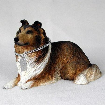 Bearded Collie Figurine (DFL23A CON Collie Sable My Dog Figurine )