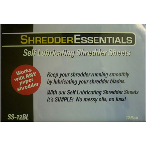 Shredder Essentials 12-Pack Oil Sheets