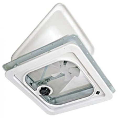 Ventline V2094-501-00 Birch White 1412V Radius Corner Vent with Pop Up (Pop Up Vent For Slide In Range)