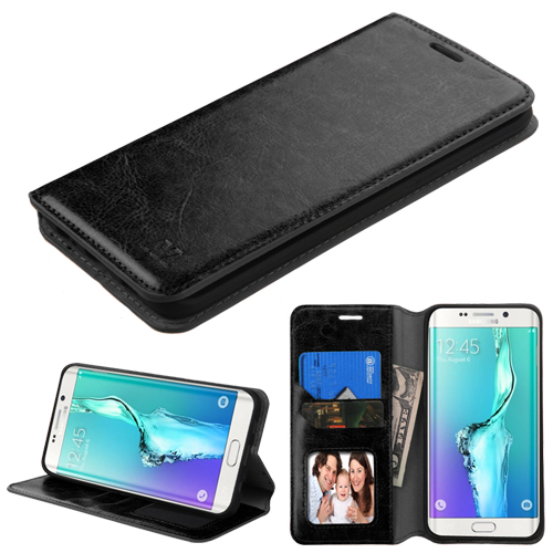 For Galaxy S6 edge Plus MyJacket Wallet +Tray Protector Cover Case