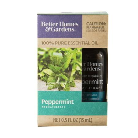Better Homes & Gardens 100% Pure Peppermint Essential Oil - Walmart.com