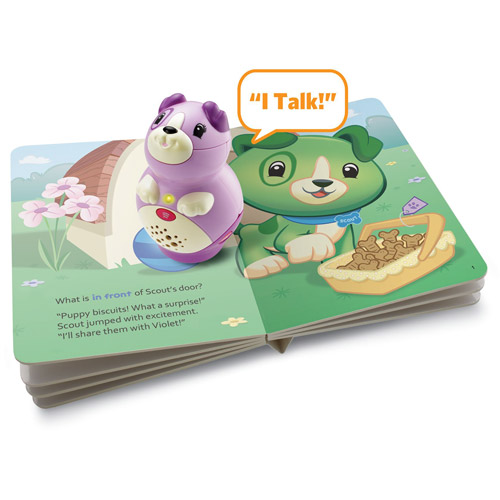 LeapFrog  LeapReader Junior Book Pal - Violet