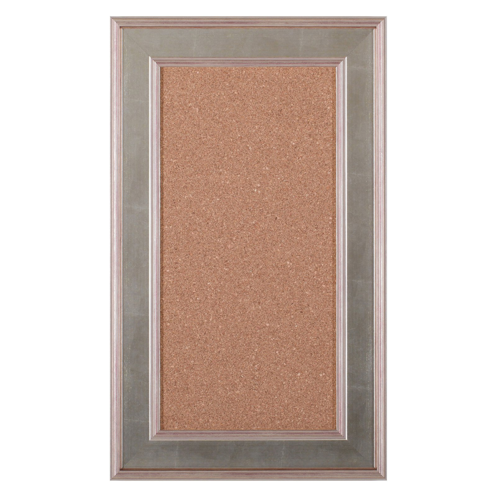 Art Effects Accent Cork Board - Brushed Silver / Champagne Gold