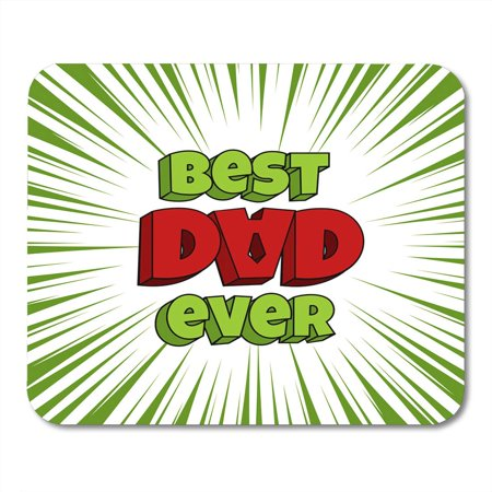 KDAGR Daddy Father Dad Popo Day Pop Popart Comic Book Text Funny 3D Wow Bright Color Man Male Retro Kitsch Mousepad Mouse Pad Mouse Mat 9x10