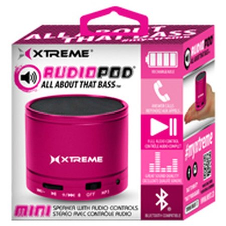 AudioPod Mini Bluetooth Speaker, Pink