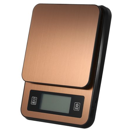 Digital Coffee Scale Multifunction Kitchen Food Scale with Timer Temperature Probe LCD Display Green Backlight 3000g/1g - image 3 of 7
