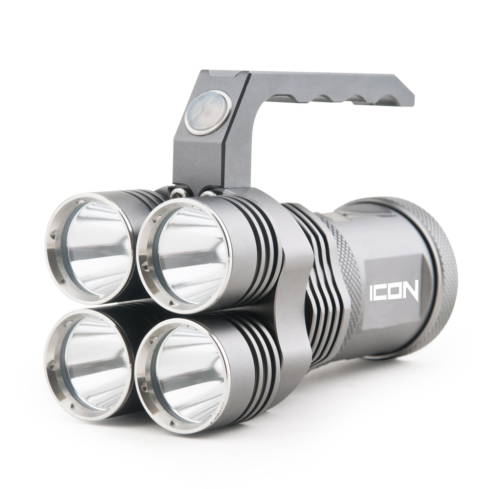 Guard Dog Icon 3000 Lumen Rechargeable Tactical Flashlight