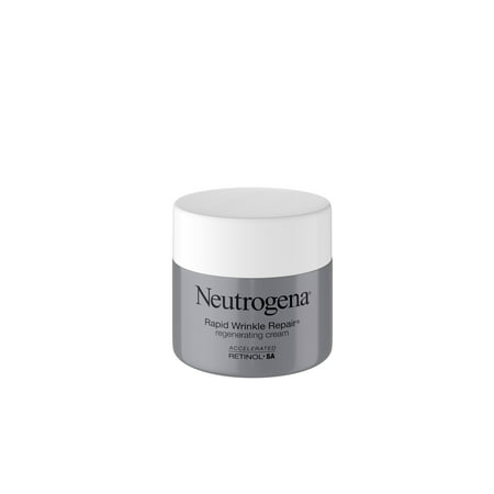 Neutrogena Rapid Wrinkle Repair Hyaluronic Acid & Retinol Cream, 1.7 oz