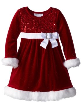 af965421ce7 Product Image Bonnie Jean Girls Christmas Dress Red Sequined 14