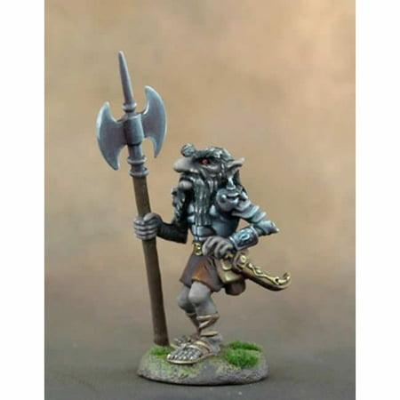 Dark Dwarf Warrior with Axe Miniature Diterlizzi Masterworks Dark Sword Miniatures