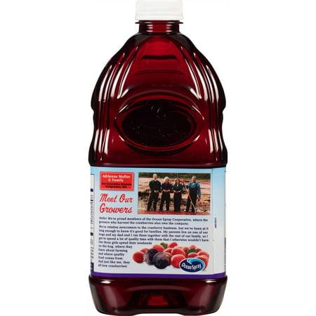 Ocean Spray Cran-Grape Juice Drink, 64 Oz. Bottle
