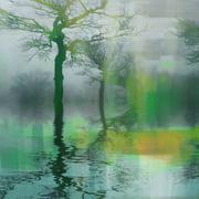 Parvez Taj Emerald Glow Art Print On Premium Canvas