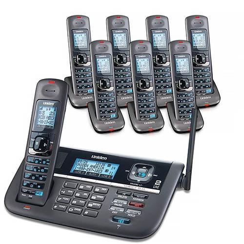 Uniden DECT4086-8 DECT 6.0 2 Line Cordless Phone System by Uniden