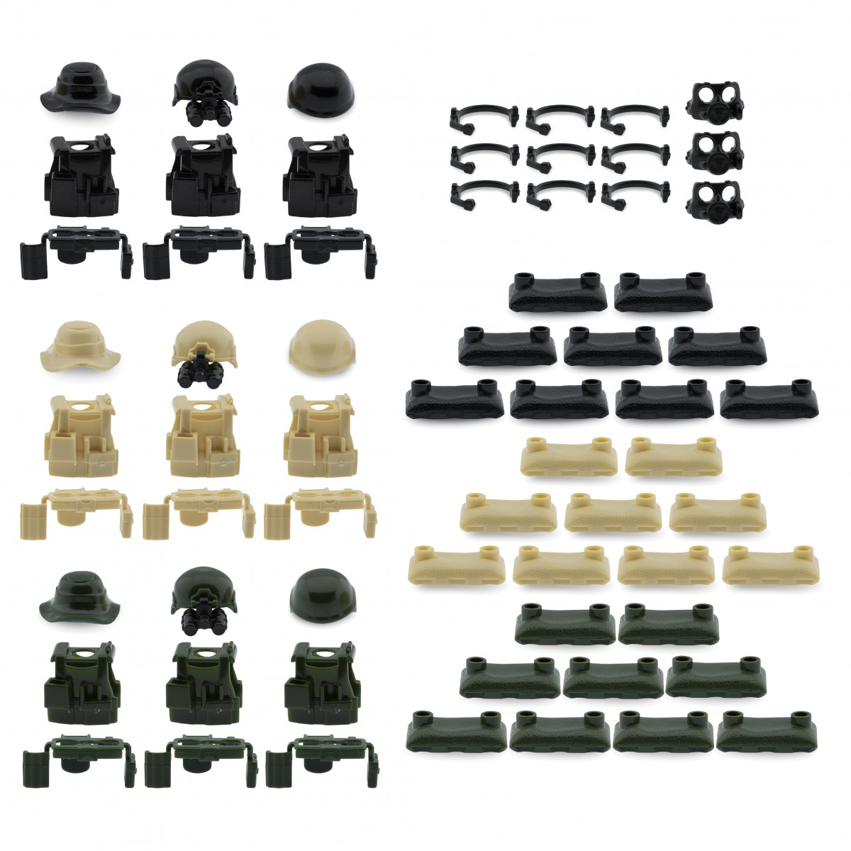 Custom Minifigures Military Army Guns Weapons Compatible w/ Lego ...