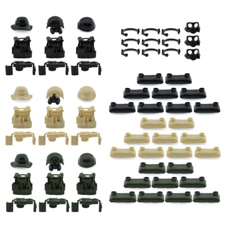 Custom Minifigures Military Army Guns Weapons Compatible w/ Lego Sets