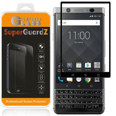 [2-Pack] For BlackBerry Keyone - SuperGuardZ Full Cover Tempered Glass Screen Protector, 9H, Edge-To-Edge Protection, Anti-Scratch (Blackberry 8520 Screen Protector)