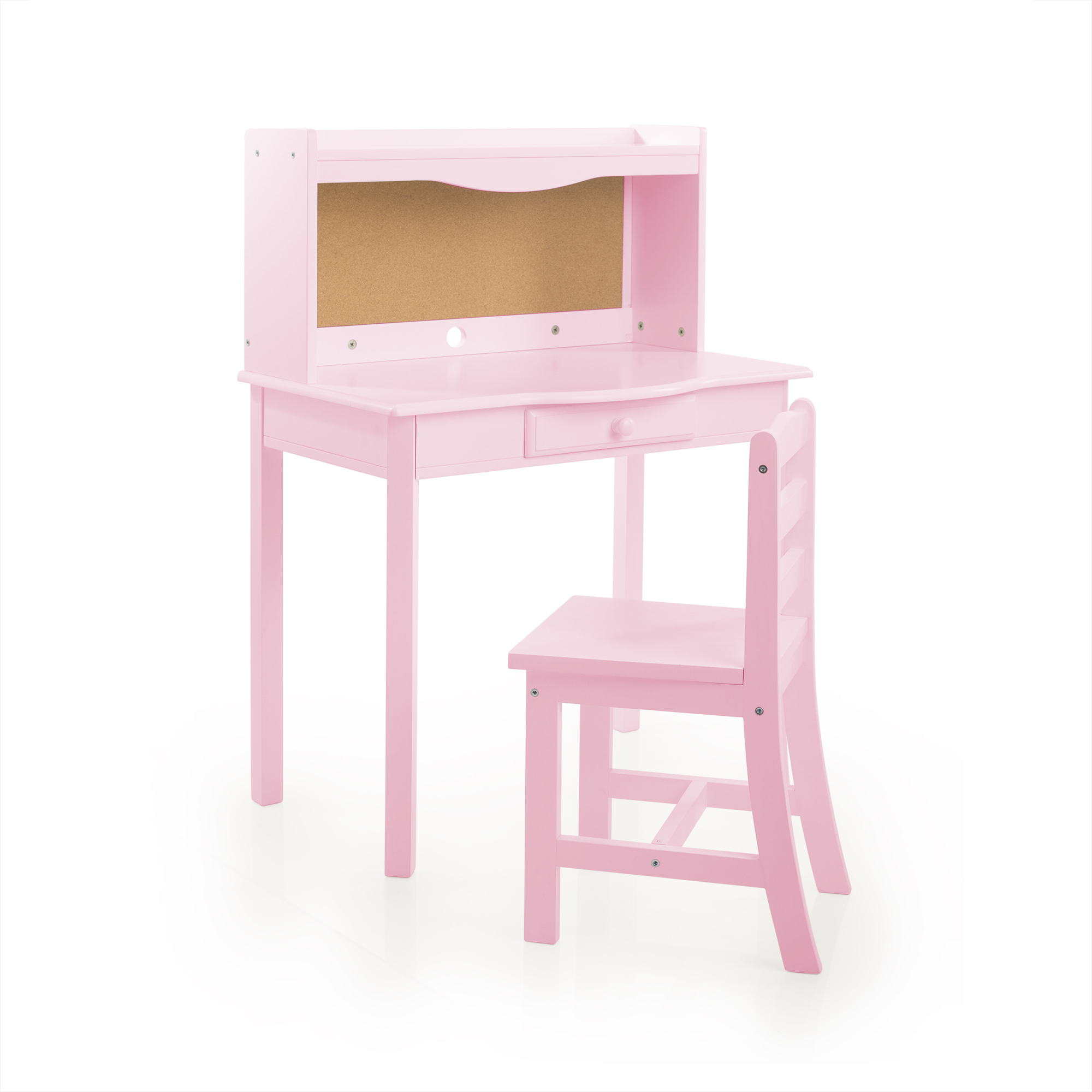 Charmant Guidecraft Classic Kids Desk With Chair, Corkboard, And Drawer