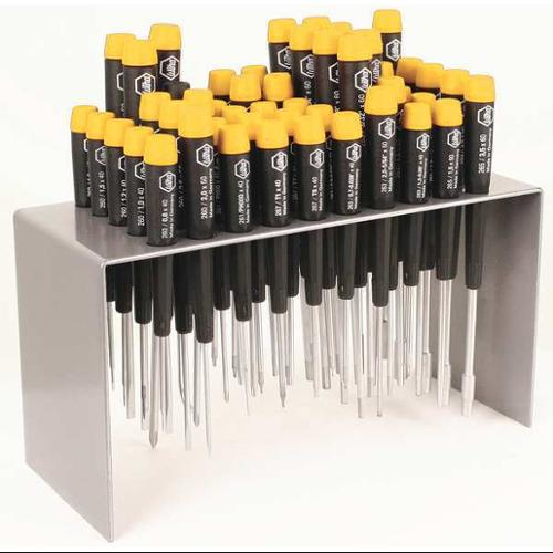 Wiha Tools Precision Screwdriver Set, High Alloy Chrome Vanadium Molybdenum Steel, 92092
