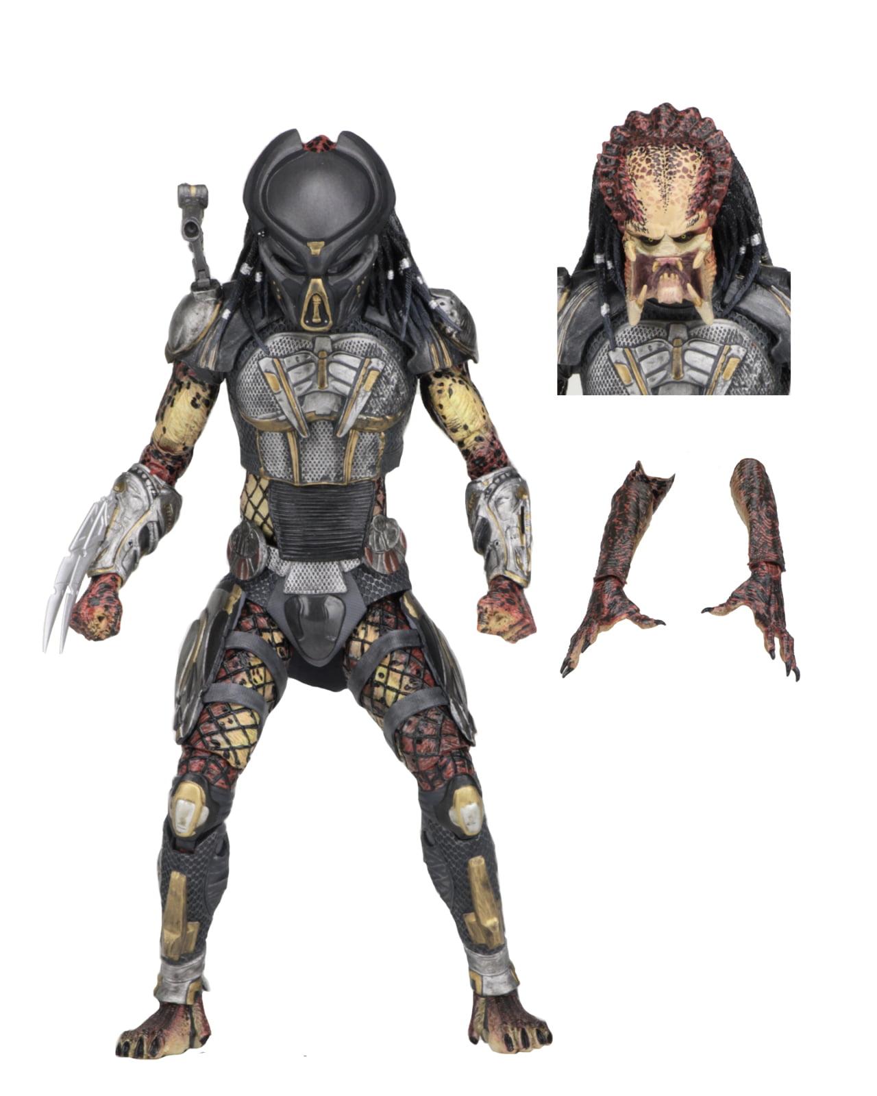 "Predator (2018) 7"" Scale Action Figure � Ultimate Fugitive Predator by Neca"
