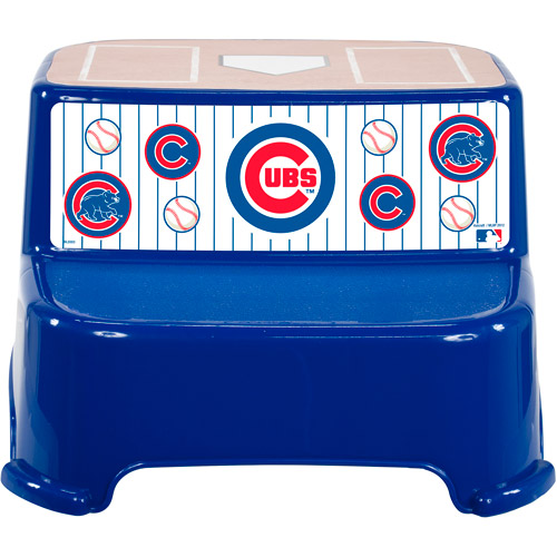 Mlb Chicago Cubs Step Stool