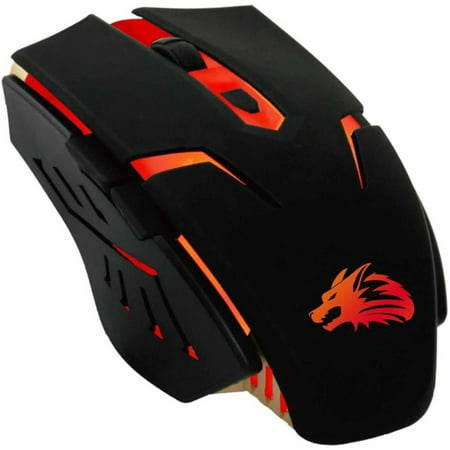 Rocksoul RSMS-00115 6D Optical Gaming Mouse, Black