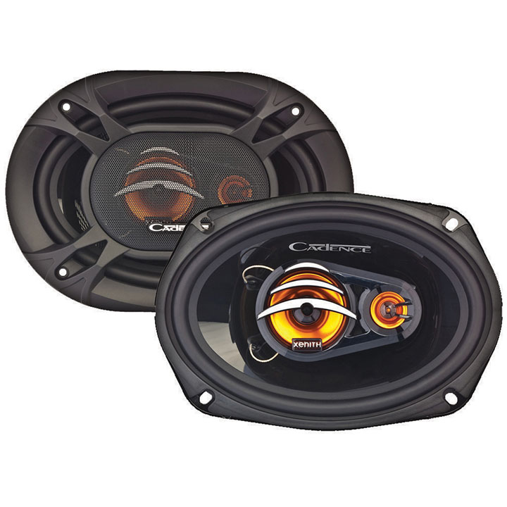 Cadence 6x9 3-way speakers 200w peak