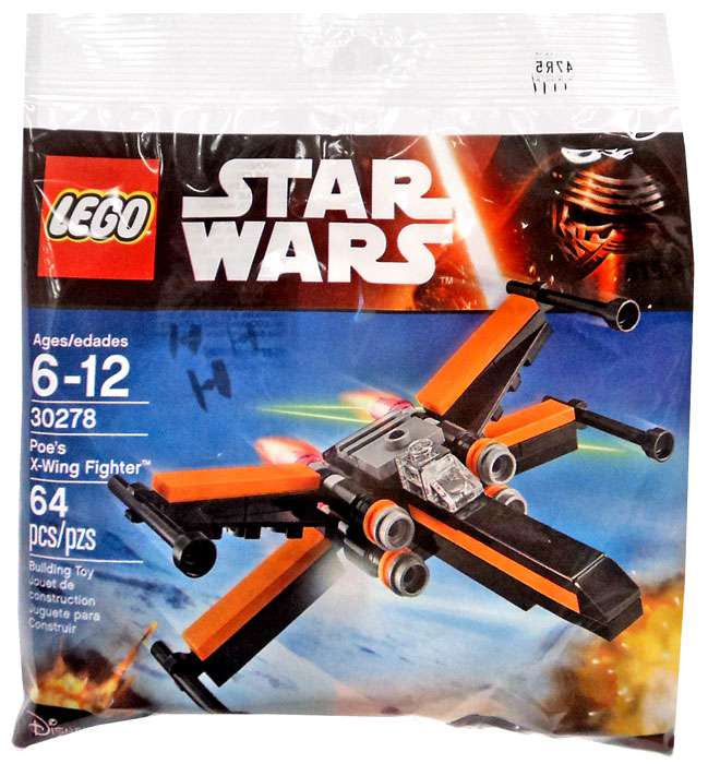 Lego Star Wars Poe's X-Wing Fighter 30278 Mini