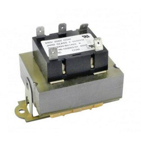Cal Pump Transformer (Raypak H000023 Analog Transformer Control Box for R5350 R6350 R8350 Heat Pump )