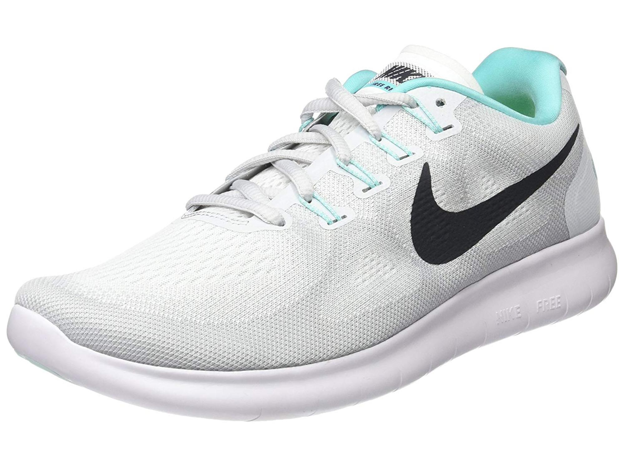 9705c8a675ee6 Nike Womens Nike flex 2017 RN Fabric Low Top Lace Up Running
