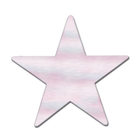 The Holiday Aisle General Occasion Jumbo Foil Star Cutout (Set of 24)