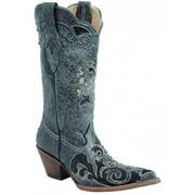 Corral Women Lizard Inlay Boots