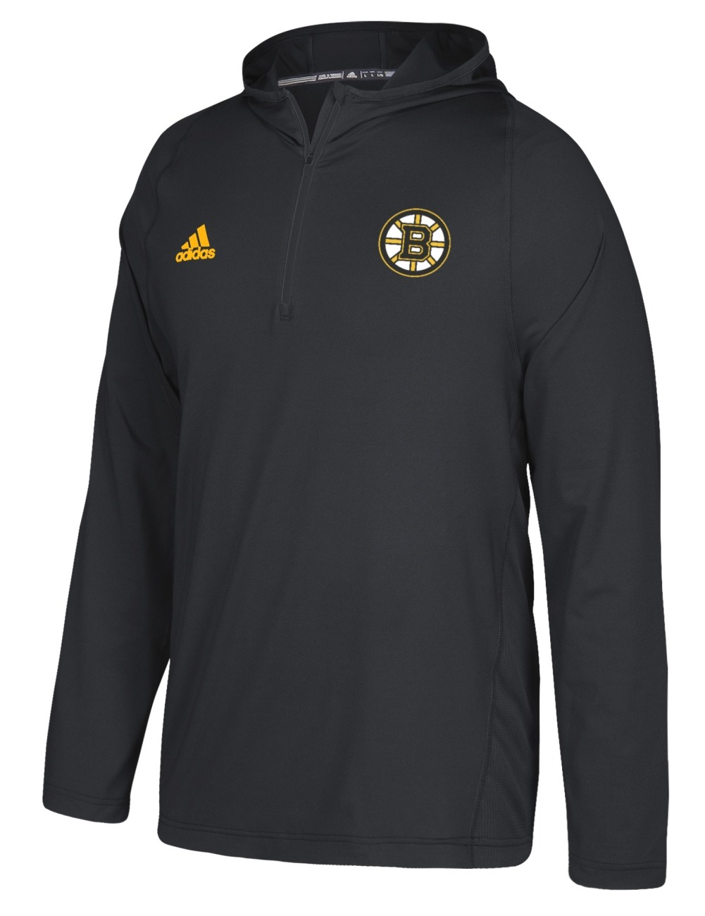 Licensed Apparel BOS Bruins Mens Athletic 1//4 Zip Pullover Sweatshirt