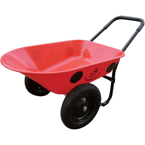 Marathon Industries Ladybug Poly Wheelbarrow
