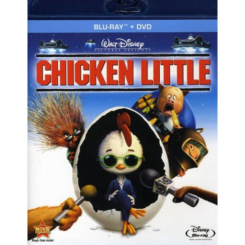 Chicken Little (Blu-ray   DVD) (Widescreen)
