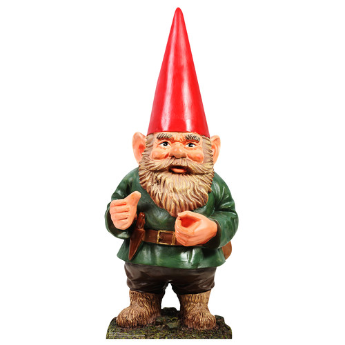 """Advanced Graphics Garden Gnome 48"""" x 19"""" Cardboard Standup by Advanced Graphics"""