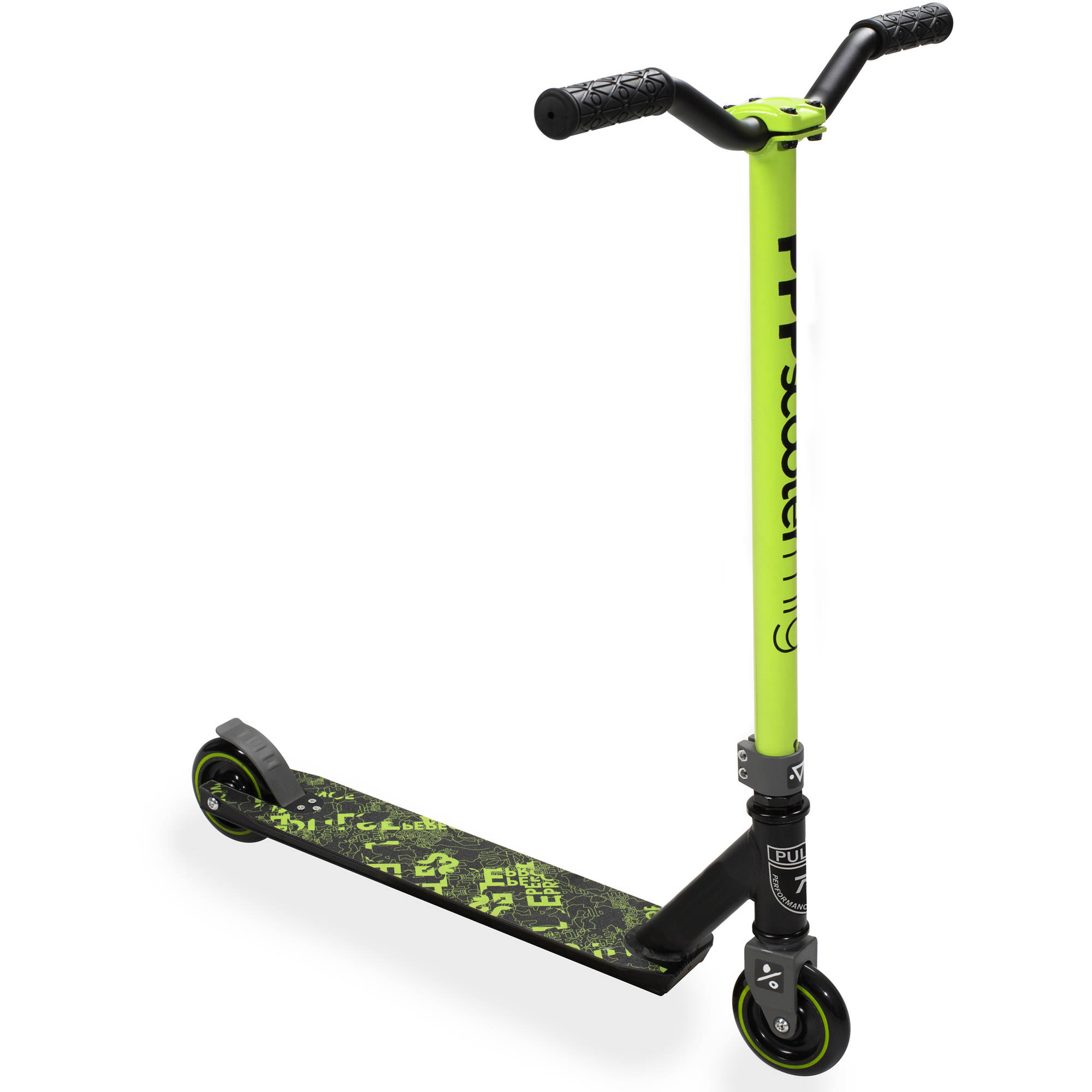 Pulse Performance Burner Pro Freestyle Scooter, Blue by Bravo Sports