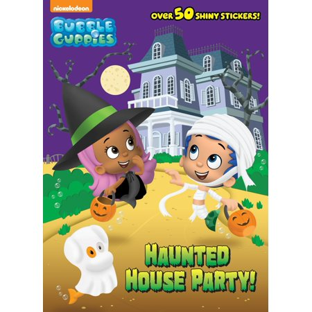 Haunted House Party! (Bubble Guppies) - Halloween Fish Makeup Tutorial