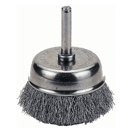 Cup Brush 1 1 2 Crimped Wire