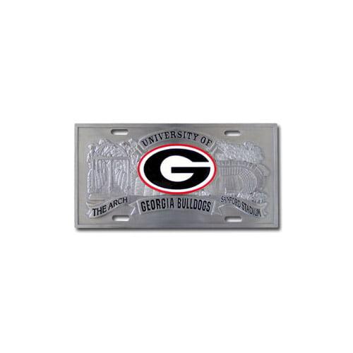 Georgia Bulldogs Official NCAA 3D License Plate by Siskiyou 792052