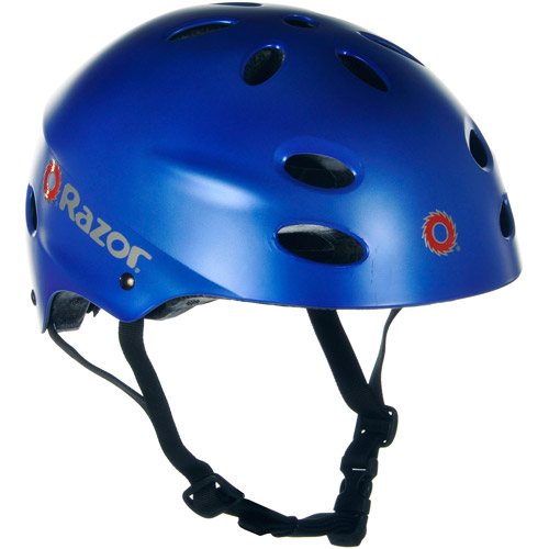 Razor Satin Blue V17 Helmet, Child by Kent International Inc