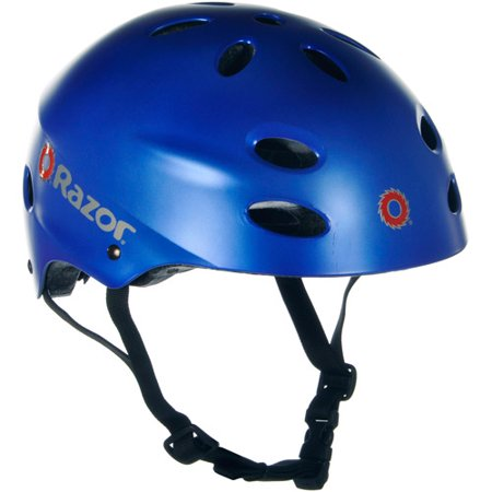 Razor Satin Blue V17 Helmet  Child