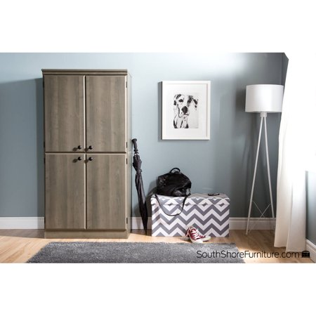 South S Morgan 4 Door Storage Cabinet Multiple Finishes