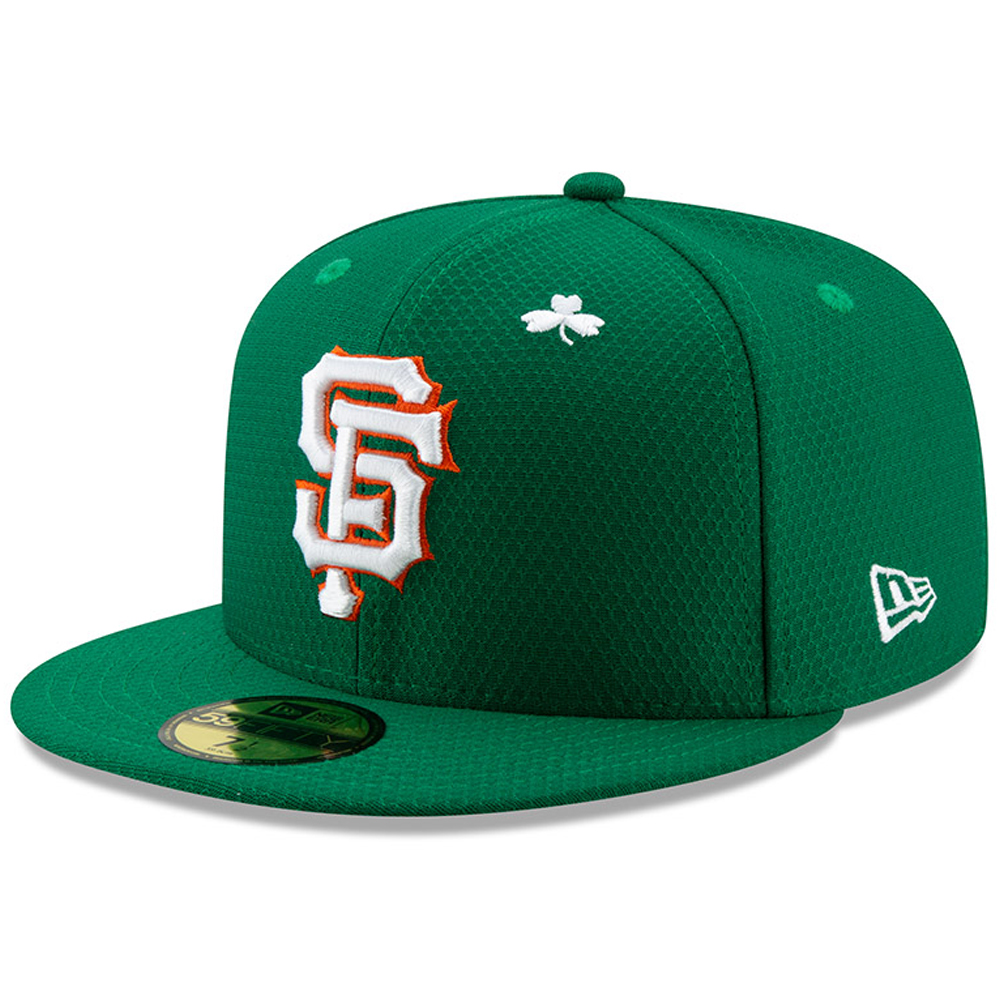 San Francisco Giants New Era 2019 St. Patrick's Day On-Field 59FIFTY Fitted Hat - Kelly Green