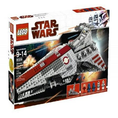 LEGO Star Wars Venator-class Republic Attack Cruiser (8039) (Discontinued by