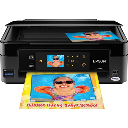 Epson Expression Home XP-400 Small-in-One Printer/Copier/Scanner