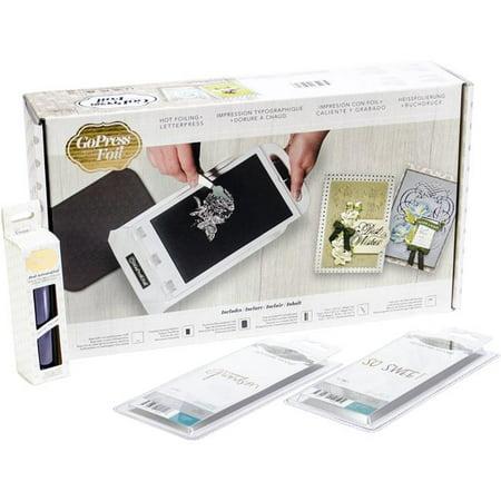 GoPress & Foil Machine + Stamps + Foil Bundle #1-Bundle #1