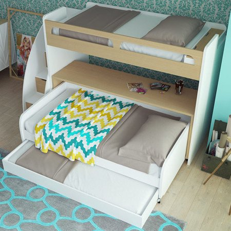 Multimo Bel Mondo Bunk Bed Trundle picture