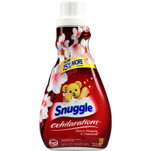 Snuggle Exhilarations Cherry Blossom & Rosewood Concentrated Fabric Softener, 50 fl oz