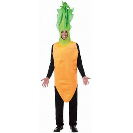 Carrot Top Men's Adult Halloween Costume, One Size, (40-46) - Carrot Costume
