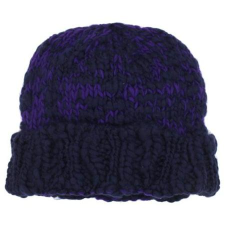 Nine West Women's Chunky Cuff Hat, Blue, One Size